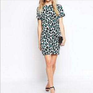 ASOS animal print dress